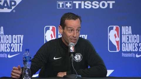 Video: Atkinson previews game vs. Heat