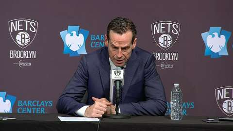 Video: Atkinson on Nets' lack of energy