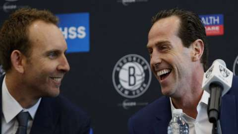 Video: Sean Marks on Kenny Atkinson