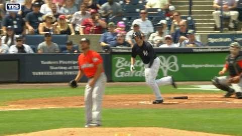 Video: Walker's RBI double