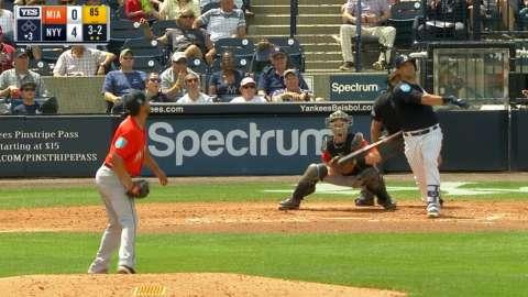 Video: Sanchez's solo home run