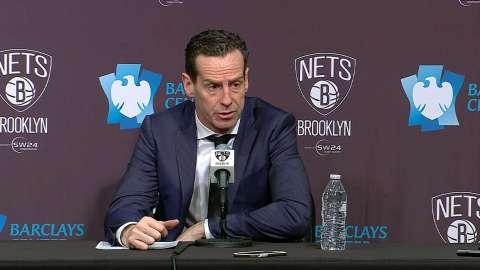 Video: Atkinson on impressive defense