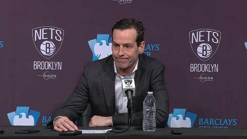 Video: Atkinson on second half collapse