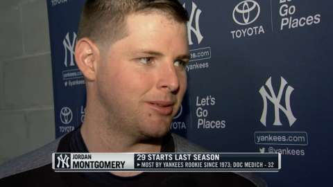 Video: Montgomery ready for Opening Day