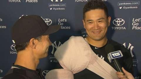 Video: Tanaka feels ready for season