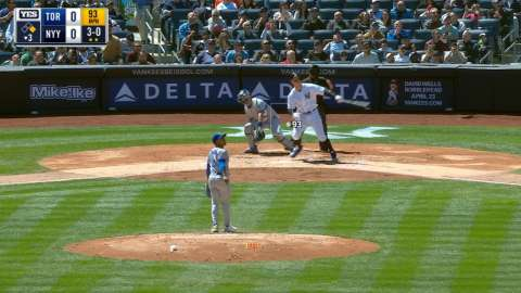 Video: Judge's two-run home run