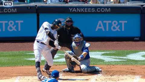 Video: Didi's solo homer in the first