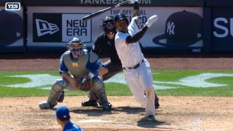 Video: Andujar's RBI double to left