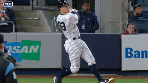 Video: Judge hits opposite-field homer