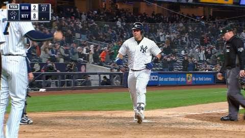 Video: Sanchez crushes second homer