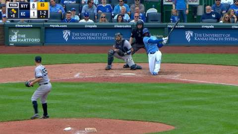 Video: Gray strikes out Soler