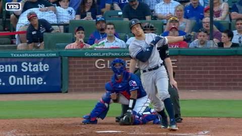 Video: Judge hits 13th home run of year