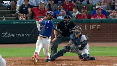 Video: Profar's bases-clearing double