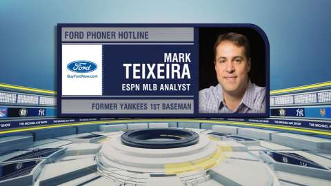 Video: Teixeira talks Yankees on TMKS