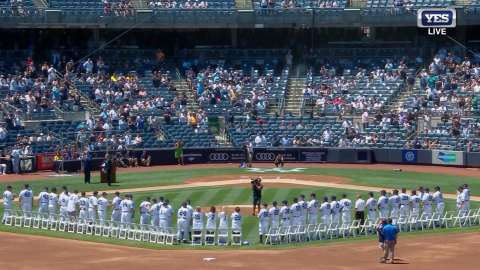Video: Old-Timers' Day full ceremony