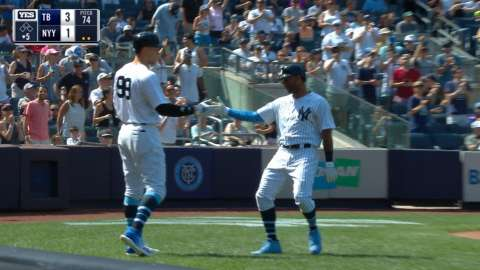 Video: Hicks' solo shot to right