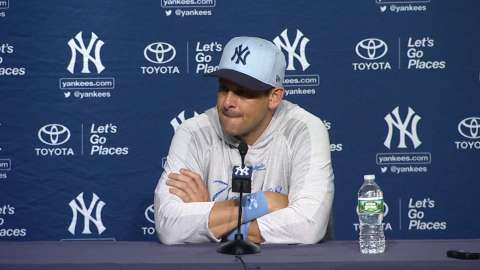 Video: Boone on 3-1 loss to Rays