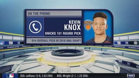 Video: TMKS: Knox on being a Knick
