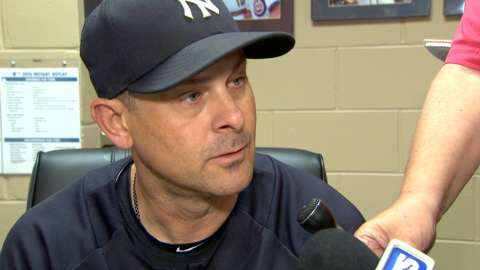 Video: Boone on 2-1 loss in Tampa Bay