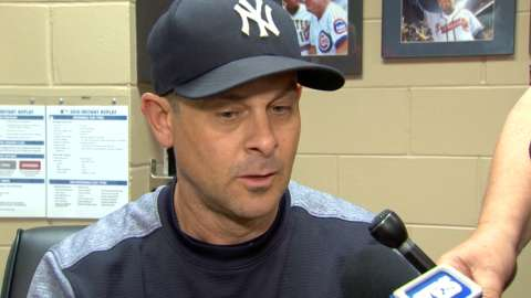 Video: Boone on offensive dry spell
