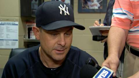 Video: Boone on sweep, Sanchez injury