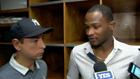 Video: German on short outing vs. Rays