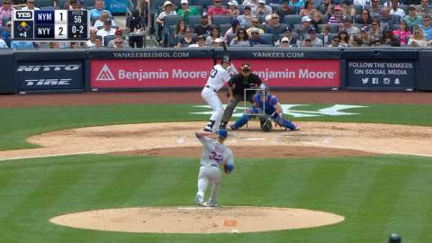 Video: Bird's RBI double to center