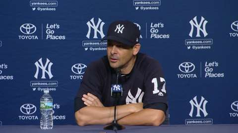 Video: Boone on Cessa, loss to Rays