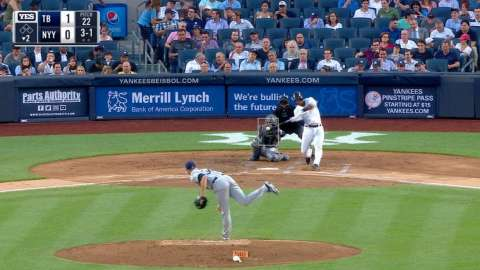 Video: Andujar's solo shot to left