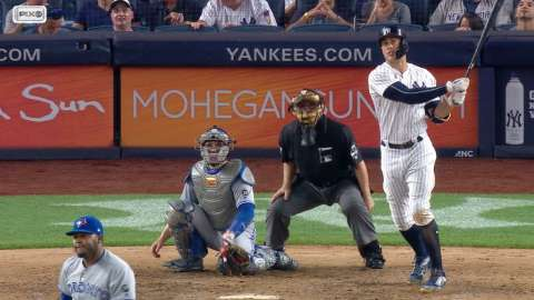 Video: Stanton crushes solo homer