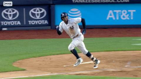 Video: Didi gets Yankees on the board