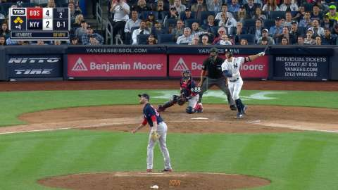 Video: Stanton's slam gives Yanks lead