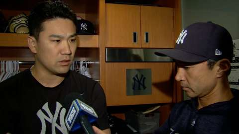 Video: Tanaka on subpar outing vs. Sox