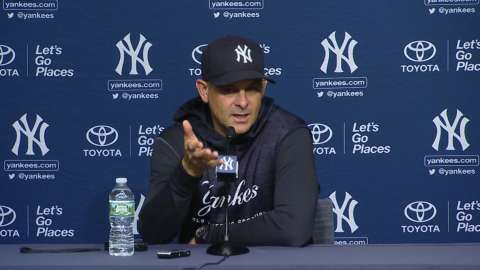 Video: Yankees prep for Wild Card game