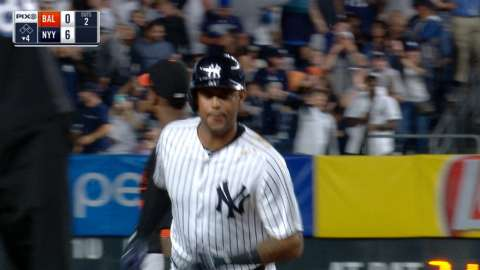 Video: Hicks' deep blast to right