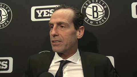 Video: Atkinson on loss to Pistons