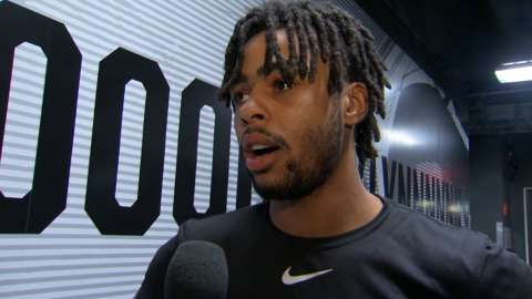 Video: Russell on expanding his game