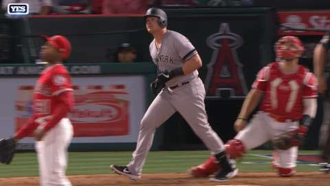 Video: Voit connects on second homer