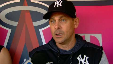 Video: Boone on five-game win streak