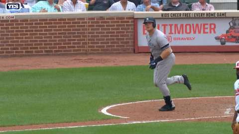 Video: Voit smacks solo home run