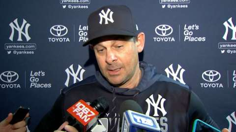 Video: Boone on ninth inning in 6-5 win