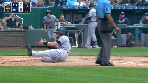 Video: Frazier's two-run double