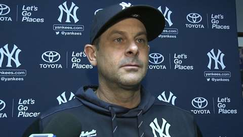 Video: Boone on doubleheader wins