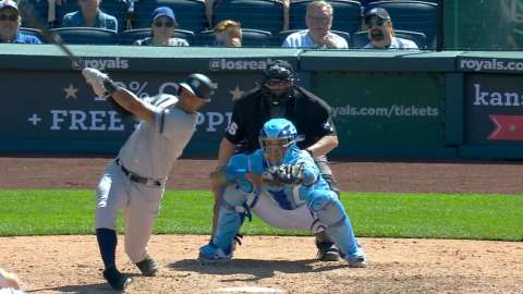 Video: Hicks' tying two-run single