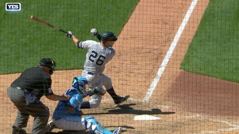 Video: LeMahieu lines clutch RBI single
