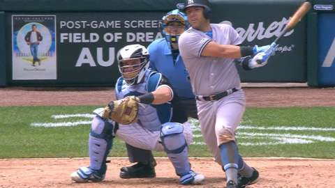 Video: Romine's two-run single