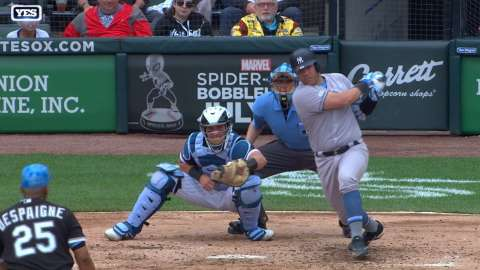 Video: Romine's two-run double